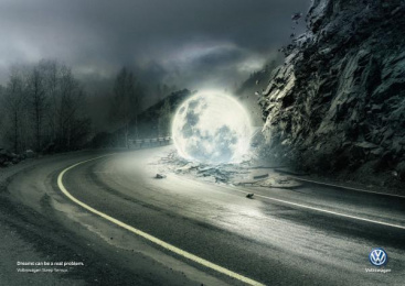Volkswagen: Collapse Print Ad by DDB Buenos Aires