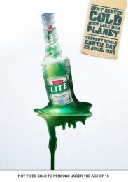 Castle Lite: World Earth Day Print Ad by Ogilvy Cape Town