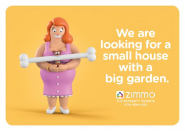 Zimmo: The Property Website for Geniuses, 5 Print Ad by Publicis Brussels