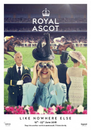 Royal Ascot: An Occasion Like Nowhere Else, 3 Print Ad by Antidote