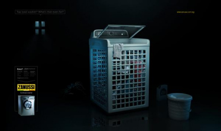 Zanussi: Washer Won't Wash! 1 Print Ad by DDB Cairo