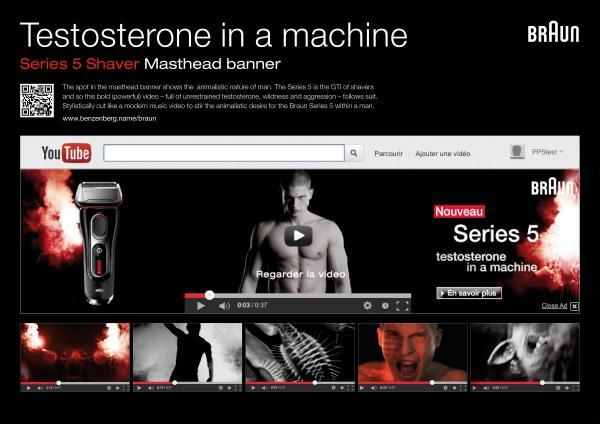 TESTOSTERONE IN A MACHINE