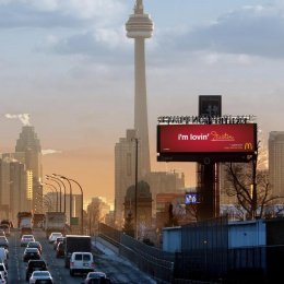 McDonald's: I'm lovin' ____, 2 Outdoor Advert by Cossette Toronto