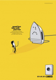 Zanussi Electrolux: WAVE Print Ad by BBH London