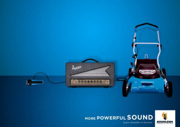 Kıvılcım Müzik: More Powerful Sound, 3 Print Ad by DokuzDoksan