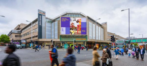 Ebay: Weather-Driven Spring Campaign, 4 Outdoor Advert by 72andsunny
