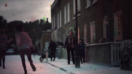 Quality Street: The first sign of Christmas Film by Bare Films, J. Walter Thompson London