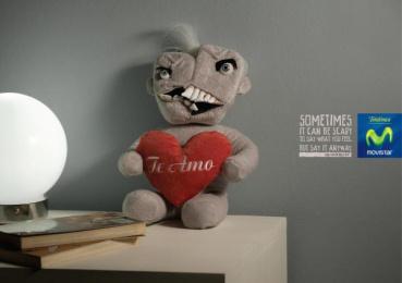 Movistar: TEDDY BEAR III Print Ad by Publicis Buenos Aires