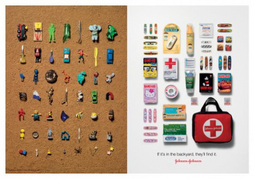 Johnson & Johnson Products: KIDS Print Ad by BBDO New York
