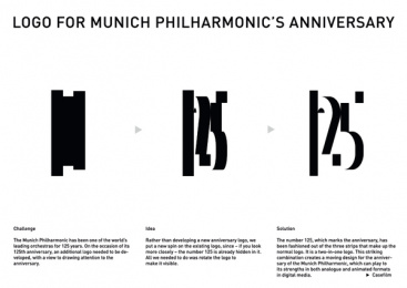 Munich Philharmonic: The logo behind the logo - Board Print Ad by Kolle Rebbe Hamburg