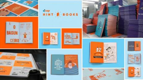 ZAP: Hint Books [image] Design & Branding by FCB Sao Paulo