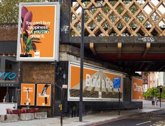 B & Q: Build a Life, 2 Outdoor Advert by Uncommon London, Knucklehead