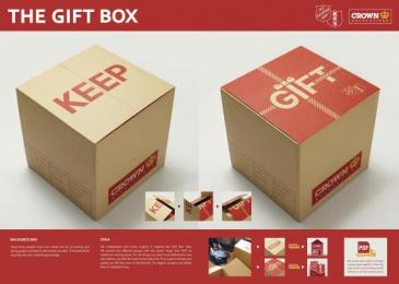 Crown Relocations: GIFT BOX Direct marketing by Leo Burnett Hong Kong