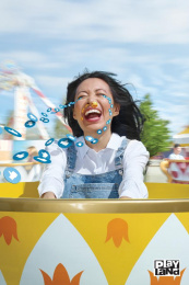Playland: Teacups Print Ad by Rethink