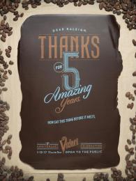 Videri: Videri's Fifth Anniversary, 2 Print Ad by Baldwin&