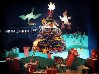 Fortnum & Mason: Christmas Windows, 19 Outdoor Advert by Otherway