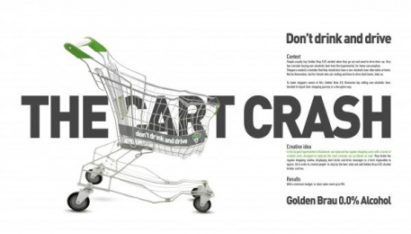 Golden Brau: Golden Brau Print Ad by Geometry Global Bucharest