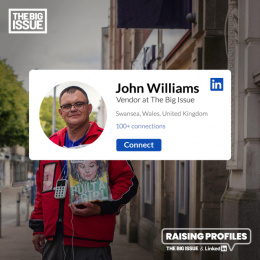 The Big Issue: Raising Profiles: John Digital Advert by FCB Inferno London