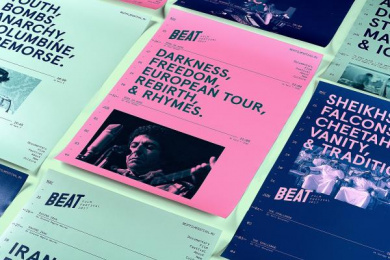 Beat Film Festival: Beat Film Festival Posters, 5 Design & Branding by BBDO Moscow