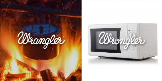 Wrangler: Wrangler vs Wrongler, 14 Print Ad by WE ARE Pi