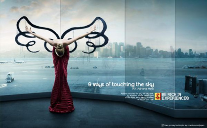 J&b Whisky: Touching the sky Print Ad by The Farm
