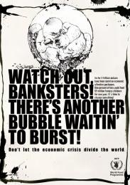 Un World Food Programme Campaign: BUBBLE Print Ad by Serviceplan Munich