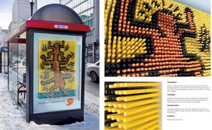 Deserres Art Store: Pencils Print Ad by Nolin BBDO Montreal