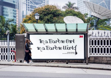 3M: Barbie Girl Outdoor Advert by Cheil Germany