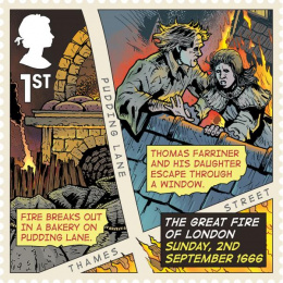 Royal Mail: Great Fire of London, 5 Design & Branding by The Chase
