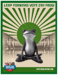 Eaton's: Eatons Desk Toy Decision [website photo] 3 Digital Advert by Jack Morton Worldwide