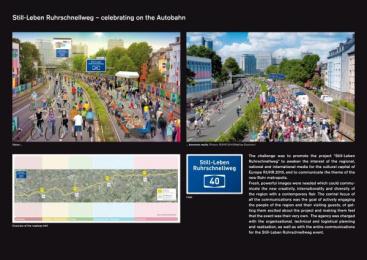 Ruhr: STILL-LEBEN RUHRSCHNELLWEG Promo / PR Ad by TAS Emotional Marketing