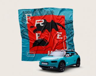 Citroen: Citroën Scarves, 5 Print Ad by BETC São Paulo
