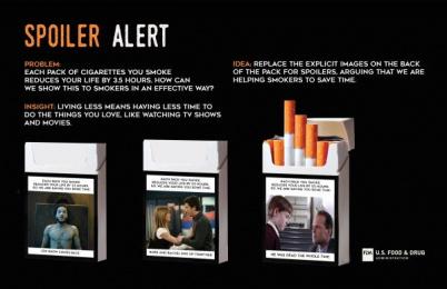 Food and Drug Administration (U.S. FDA): Spoiler Alert Design & Branding by Miami Ad School New York