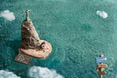 Mundi: Rio Print Ad by Heads Propaganda