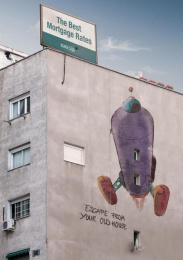Bancaja: PURPLE ROCKET Outdoor Advert by Remo