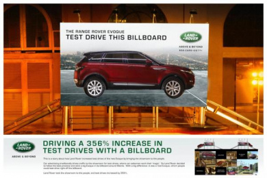 Land Rover: The Test Drive Billboard Outdoor Advert by Y&R Singapore