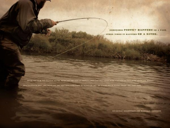 Xtreme Trout: Poetry Print Ad by GS&F Nashville