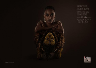 Vodacom Mozambique Fashion Week: Wizards Print Ad by DDB Maputo