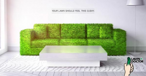 Lawn Doctor: Couch Print Ad by Sleek Machine Boston