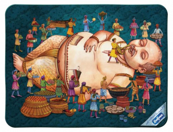 Koolfoam Mattress: Lullaby, Fatman Print Ad by VML Qais Mumbai