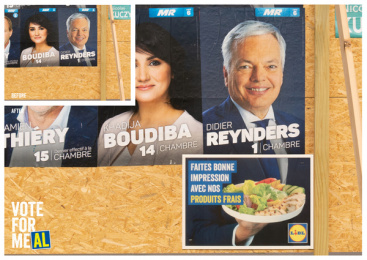 Lidl: vote for meAL, 8 Print Ad by BBDO Brussels