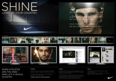 Nike Sportswear: SHINE Promo / PR Ad by Villar & Rosas