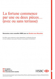 HSBC: HSBC, 3 Print Ad by Saatchi & Saatchi + Duke France
