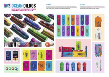 MTV: Ocean dildos [image] Direct marketing by Africa Sao Paulo, Spray Filmes