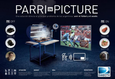 DirecTV: Parri In Picture [image] Case study by Ogilvy & Mather Buenos Aires