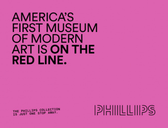 The Phillips Collection: America's First Modern Art Museum, 7 Outdoor Advert by January Third