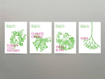 Uncommon Practice: Uncommonly Useful Christmas Cards, 1 Promo / PR Ad by GPY&R Sydney, Uncommon Practice Sydney