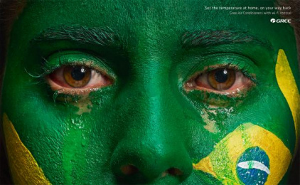 Gree Airconditioners: Brazil Print Ad by Lokal