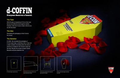 D-con: d-Coffin Direct marketing by Miami Ad School New York