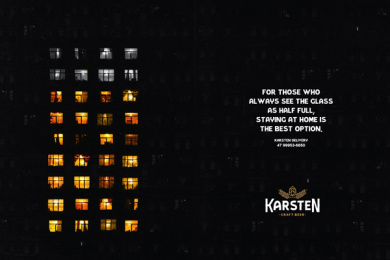 Karsten Brewery: Windows Print Ad by Woop